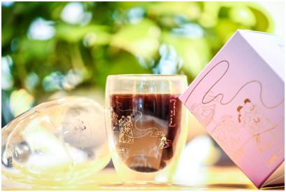 《牡丹亭•惊梦》版画双层玻璃杯