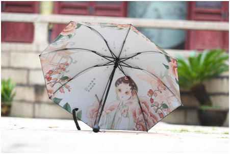 《雨丝风片》晴雨伞